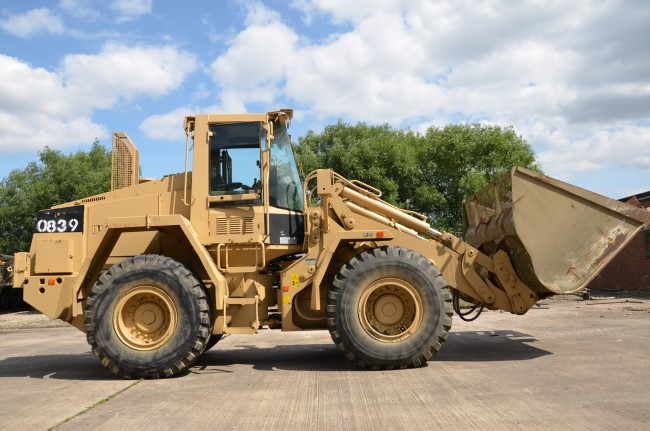 Case 721 CXT wheeled loader | used military vehicles, MOD surplus for sale