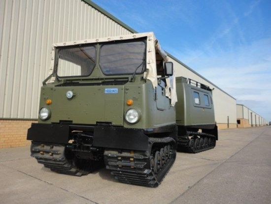 Hagglunds Bv206 Amphibious Soft Top/ Hard Top | used military vehicles, MOD surplus for sale