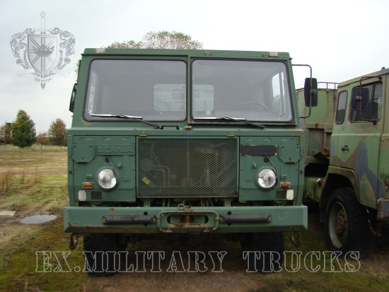 Scania SBA111 A134 6x6 Drop Side Cargo Truck | used military vehicles, MOD surplus for sale