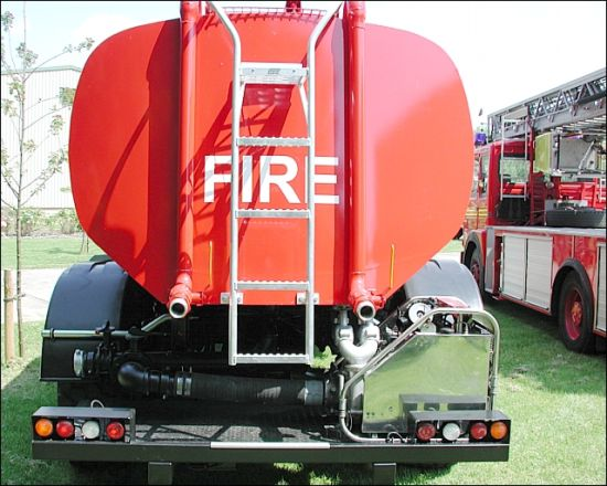 Bedford 14,000L Emergency Water Tanker 6x6 | used military vehicles, MOD surplus for sale