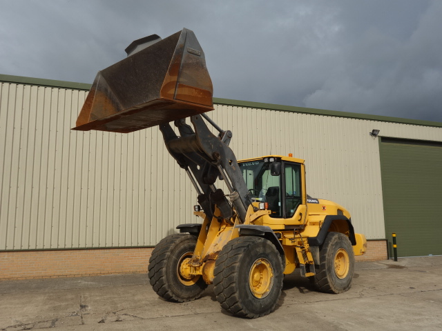 Volvo L120G Wheeled Loader for sale | military vehicles