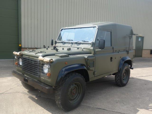 WAS SOLD Land Rover Defender 90 Wolf Hard Top Remus RHD