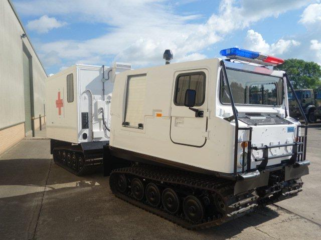 Hagglund Bv206 hard top Ambulance | used military vehicles, MOD surplus for sale