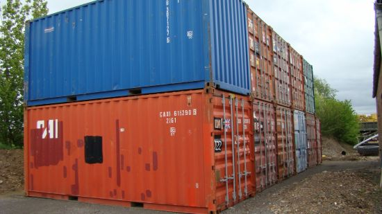 WAS SOLD Standard 20 ft shipping containers
