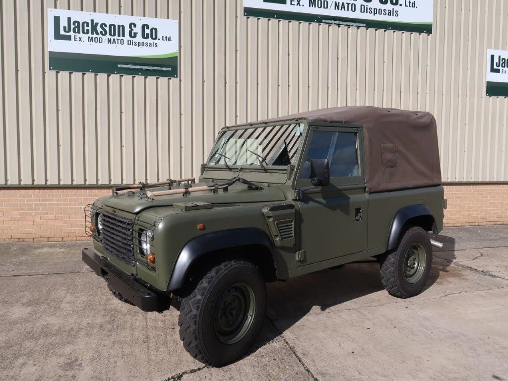 Land Rover Defender 90 Wolf LHD Soft Top (Remus) |  EX.MOD direct sales