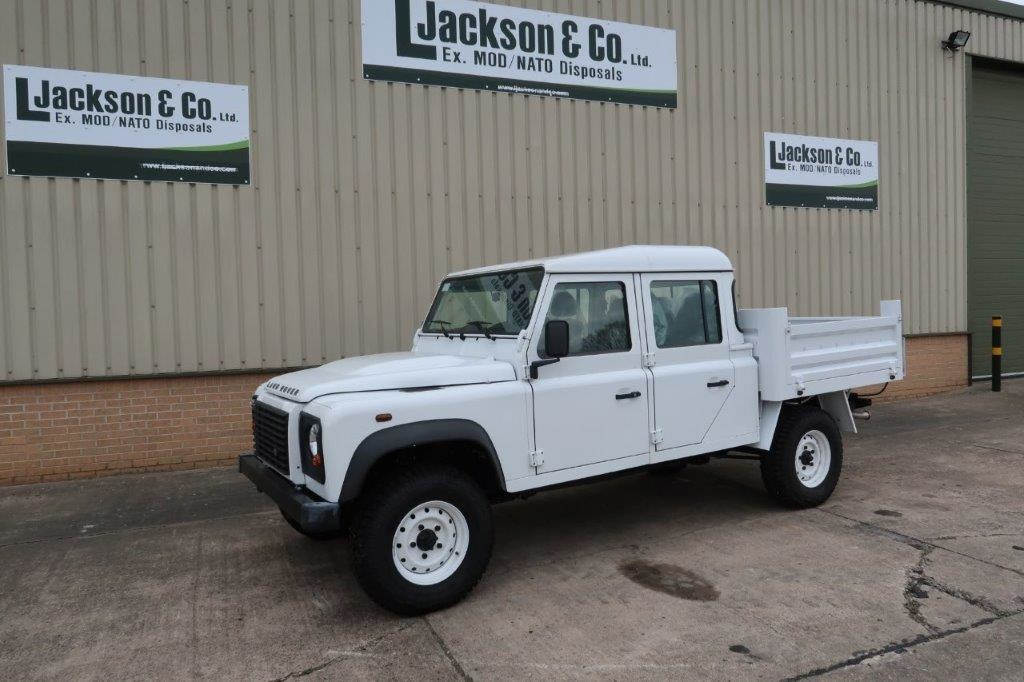 New Land Rover Defender 130 LHD Double Cab Pickup for sale | military vehicles