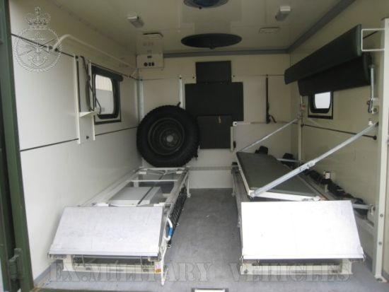 Mercedes Unimog U1300L Ambulance  for sale. The UK MOD Direct Sales