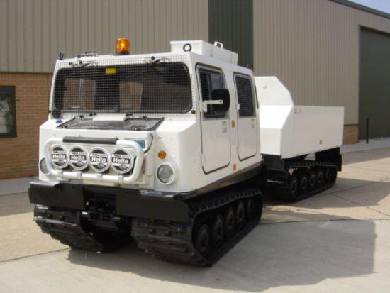 Hagglund BV206 dumper multilift   used military vehicles, MOD surplus for sale
