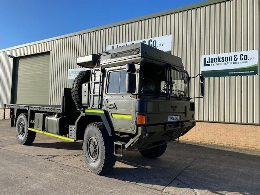 Unused MAN HX60 4x4 Cargo Truck road registered for sale