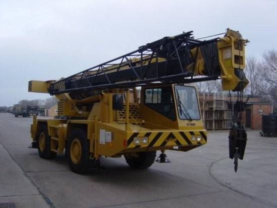Grove AT422E Ex military all terrain crane | Military Land Rovers 90, 110,130, Range Rovers, Mercedes for Sale