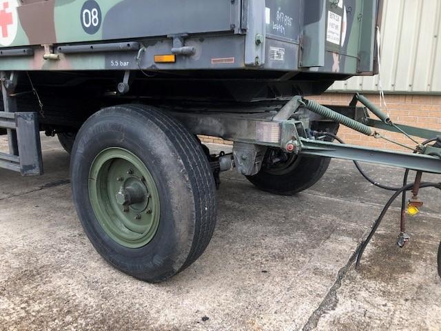Schmitz 2 Axle Draw Bar Cargo Trailer for sale
