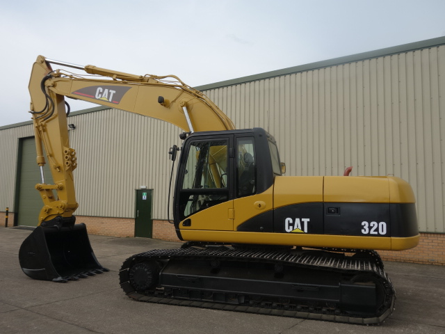 Caterpillar 320 CL Tracked Excavator  for sale . The UK MOD Direct Sales