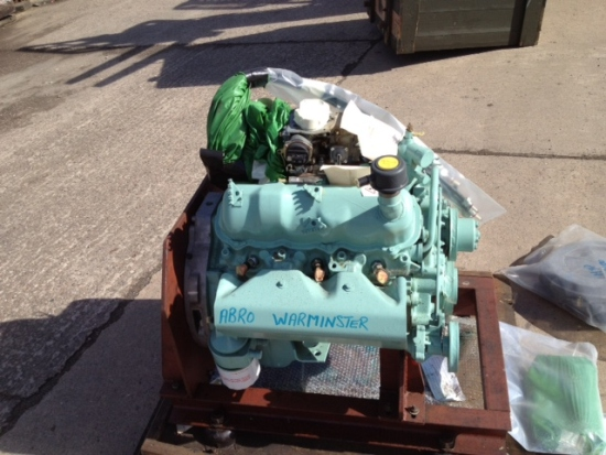 Used  FORD Petrol  V6  engine 2.8 lt as fitted to Hagglunds BV206 for sale