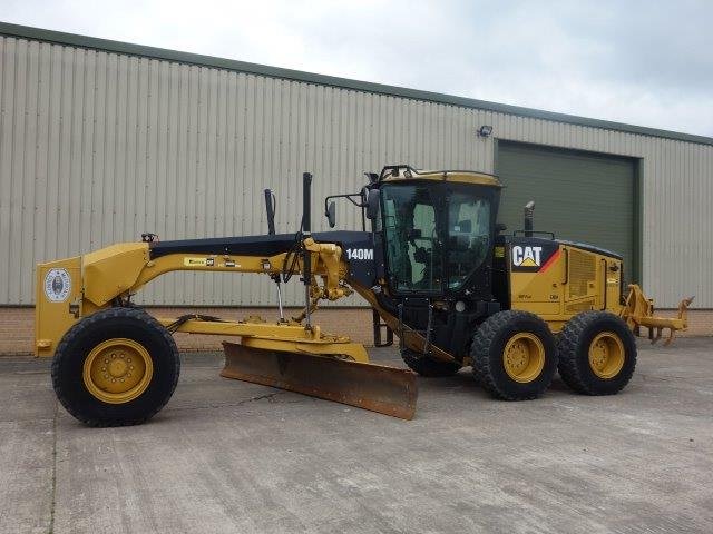 Caterpillar 140M Grader  for sale. The UK MOD Direct Sales