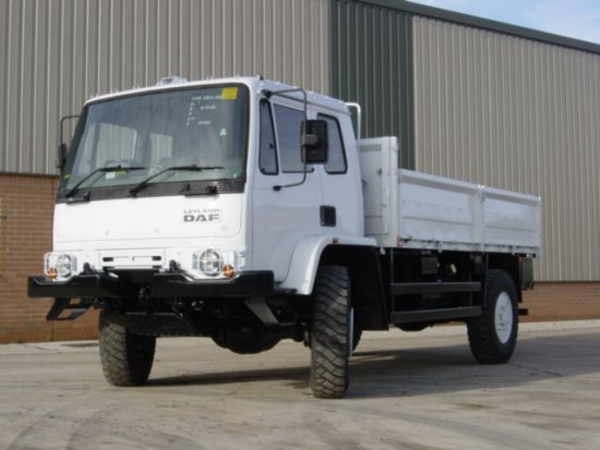 Leyland DAF 45.150  4x4 Drop Side Cargo Truck  for sale. The UK MOD Direct Sales