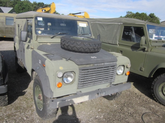 Land Rover Defender 110 2.5L NA Diesel (Hard Top) | Ex military vehicles for sale, Mod Sales, M.A.N military trucks 4x4, 6x6, 8x8