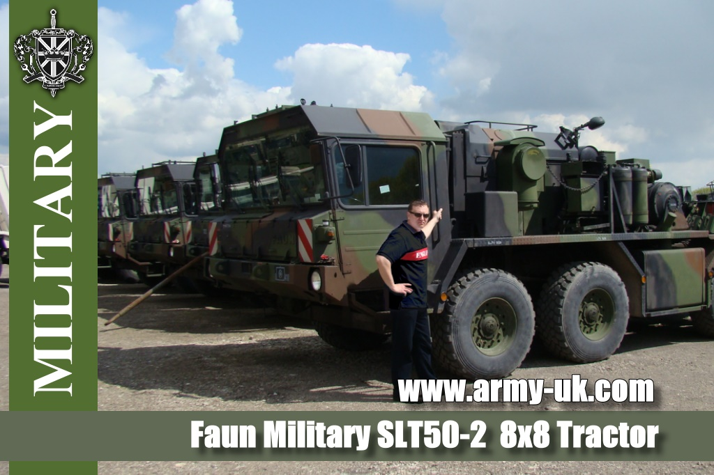 Faun Military SLT50-2  8x8 Tractor Trucks | Military Land Rovers 90, 110,130, Range Rovers, Mercedes for Sale