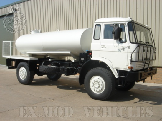 The DAF YA4440 4x4 tanker truck  4,000 Lt  for sale . The UK MOD Direct Sales