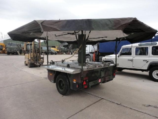 Karcher TFK 250 army mobile field kitchen trailer | used military vehicles for sale
