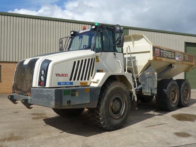 SOLD Terex TA300 6x6 Articulated Dumper 2011 | used military vehicles, MOD surplus for sale
