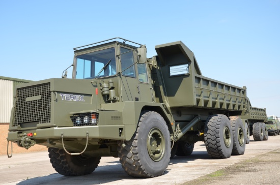 Terex 3066 (TA25 Army) Articulated Dumper 6x6 & Multilift system |  EX.MOD direct sales