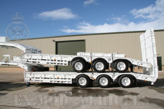 Trailmaster TS45 45,000kg semi low bed  EX.MOD  trailer | used military vehicles for sale