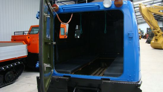 Hagglund BV206 Personnel Carrier (New Turbo Diesel )   used military vehicles, MOD surplus for sale