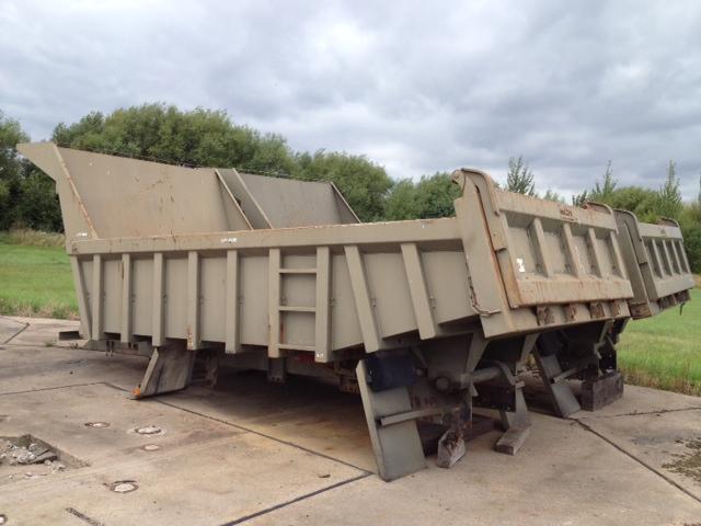 Roelof Heavy Duty Steel Rock Bodies with Edbro Tipping gear for sale