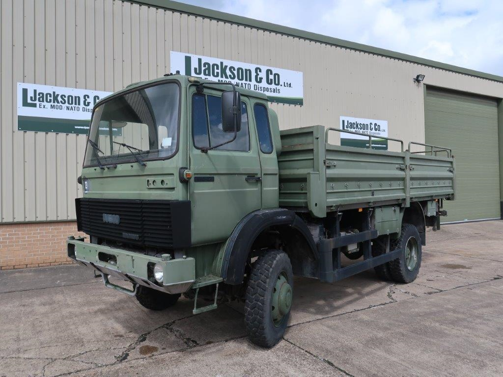 Iveco 110-17A 4x4 Drop Side Cargo Truck for sale