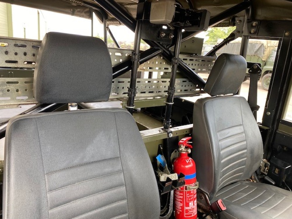 Land Rover Defender Wolf 110 soft top  RHD  military for sale