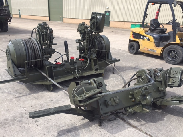 Rotzler Heavy Duty Dual Winch Unit | Military Land Rovers 90, 110,130, Range Rovers, Mercedes for Sale