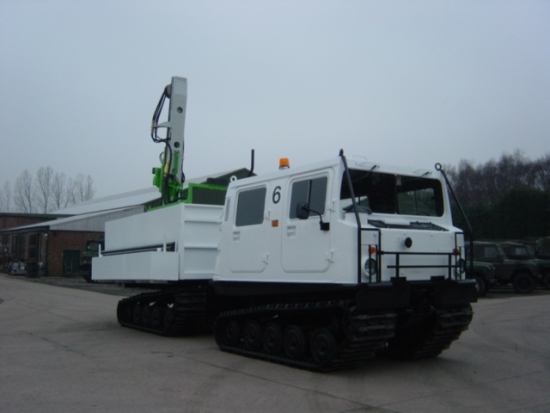 Hagglunds BV206  for a drilling rig (Amphibious) | Military Land Rovers 90, 110,130, Range Rovers, Mercedes for Sale