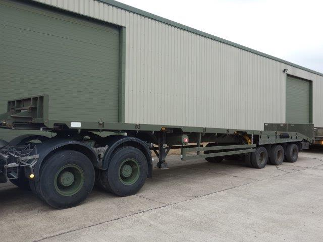 Oldbury Sliding Deck Recovery Trailer | used military vehicles for sale
