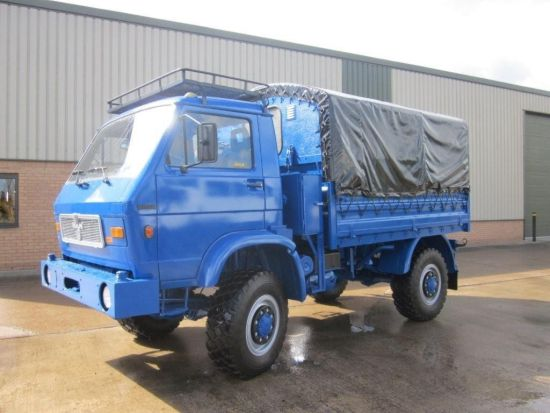 MAN 8.136 FAE 4x4 Drop side cargo truck |  EX.MOD direct sales