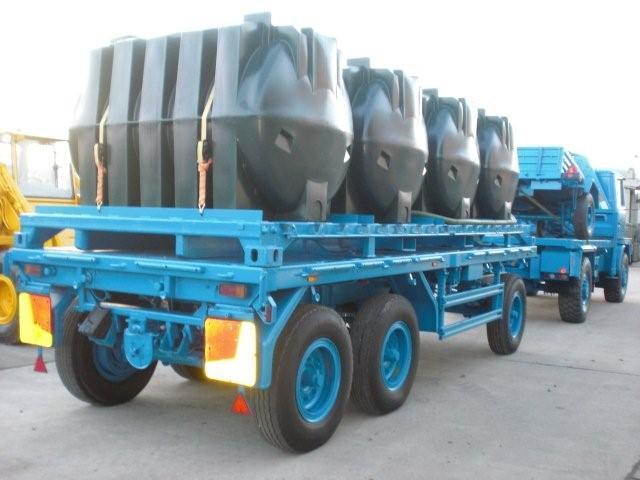 Schmitz tri axle draw bar trailer   used military vehicles, MOD surplus for sale