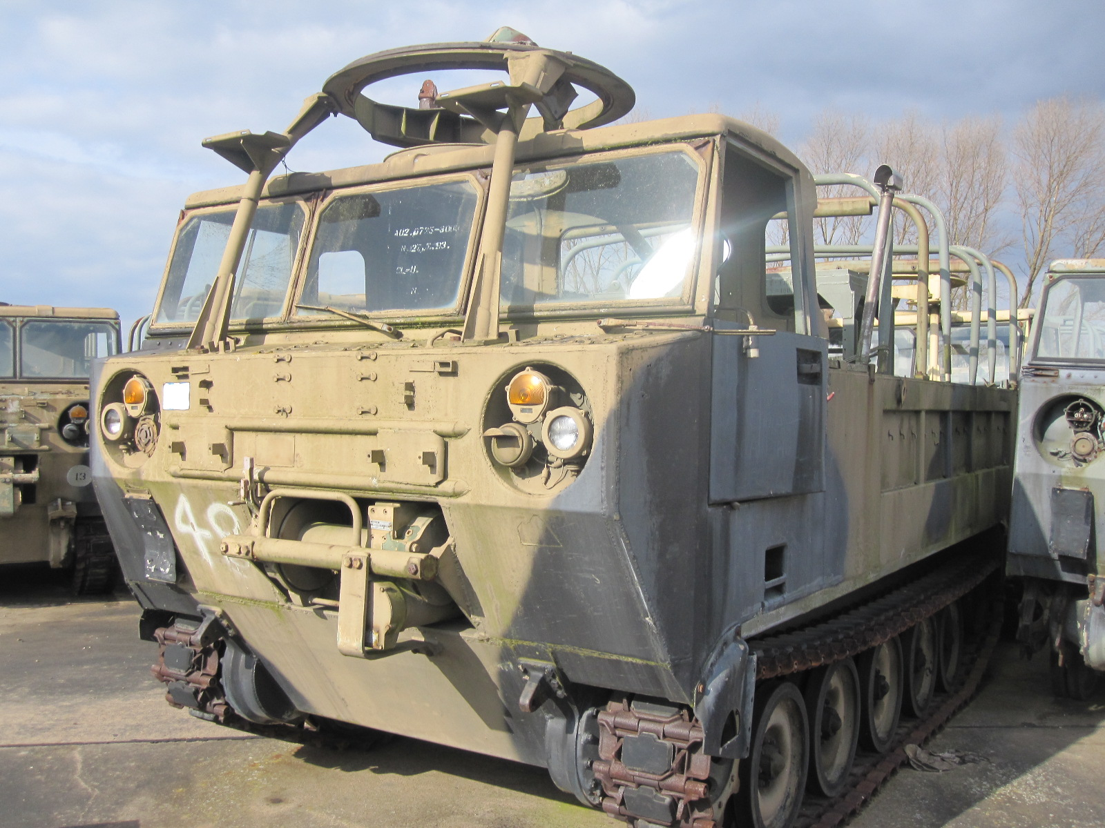 M548 tracked cargo carrier for sale | military vehicles