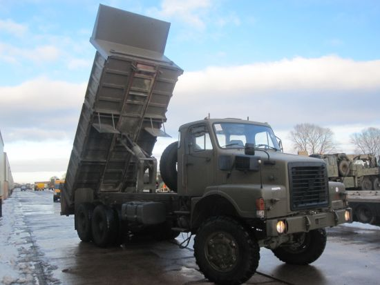 Volvo N10 6x6 tipper truck | used military vehicles, MOD surplus for sale