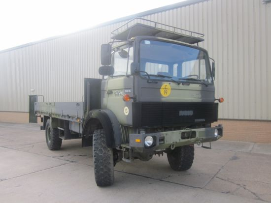 Iveco 110 - 16 4x4 LHD cargo truck with Sepson winch for sale | military vehicles