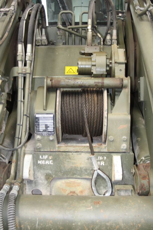 Hydraulic Winch Ulrich MWT  for sale . The UK MOD Direct Sales