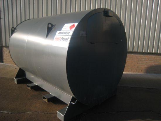 4,500 litre bunded tank with metered pump | used military vehicles, MOD surplus for sale