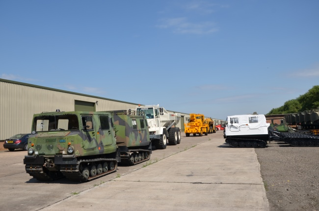 Hagglund BV206 Personnel Carrier (Petrol/Gasolene)   used military vehicles, MOD surplus for sale
