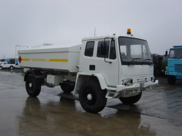 Leyland DAF Military 4x4 Bunded Tanker Truck for sale