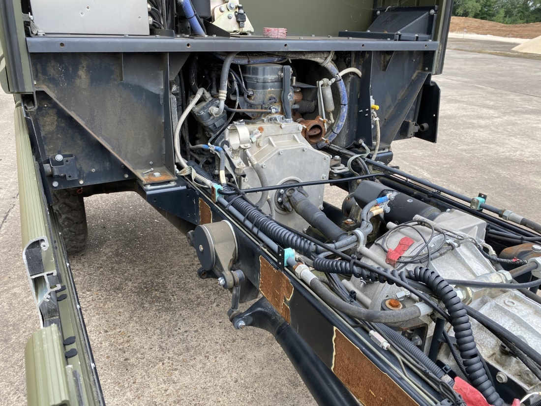 Mowag Duro II 6x6 Chassis Cab (Project Vehicle) | used military vehicles, MOD surplus for sale