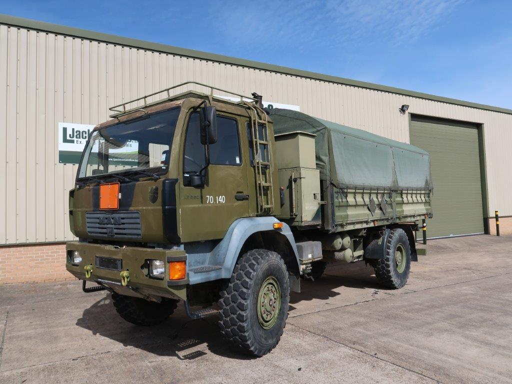 WAS SOLD MAN 18.225 4x4 Cargo Truck