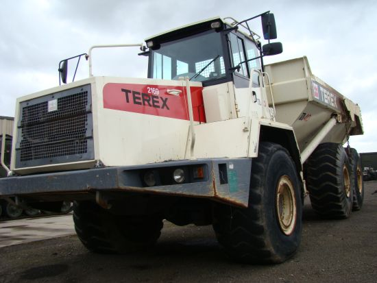 Terex TA40 Articulated dump Truck  EX.MOD direct sales