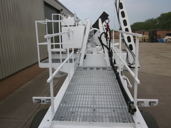 Ekalift military container handling trailer | used military vehicles, MOD surplus for sale