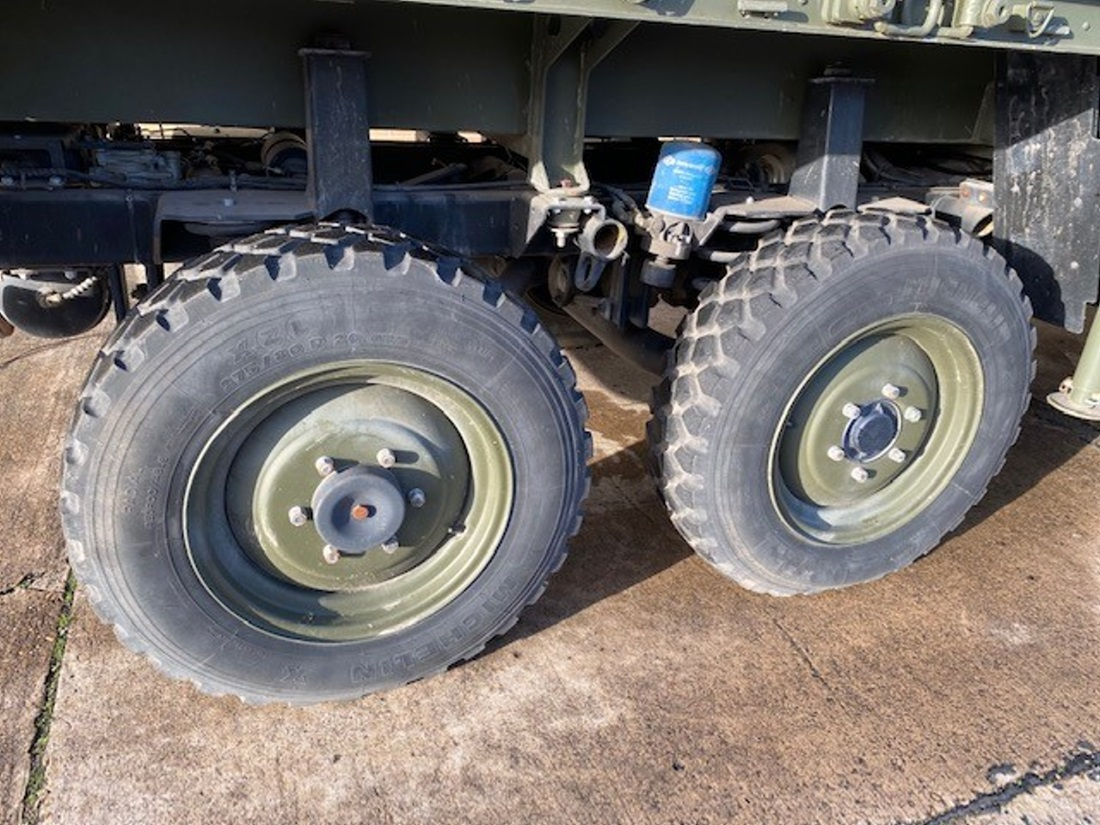 Mowag Duro II 6x6 cargo crane  truck   used military vehicles, MOD surplus for sale
