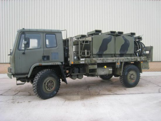 Leyland DAF T45 4x4  bunded tanker - RHD | used military vehicles, MOD surplus for sale