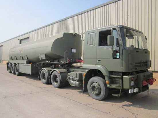Seddon Atkinson 68 ton 6x4 RHD tractor unit  for sale . The UK MOD Direct Sales