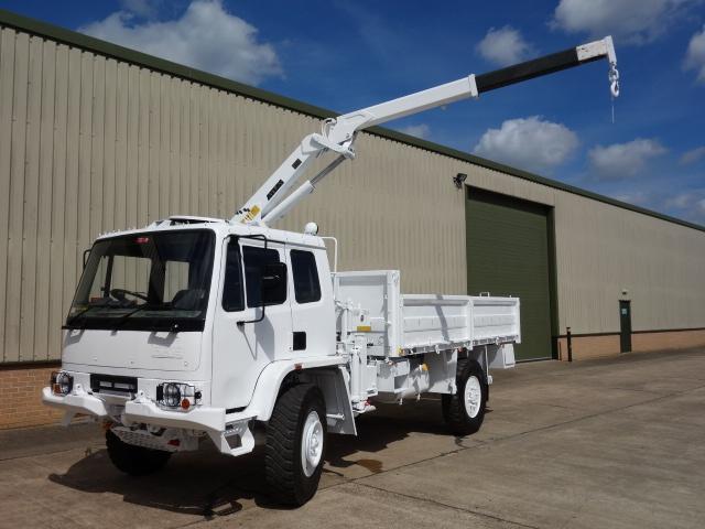 Leyland Daf 4x4 RHD crane truck